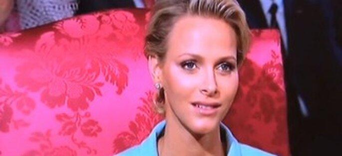 """Charlene Wittstock hat eine das """"Oui"""" an Fürst Albert II von Monaco gegeben."""