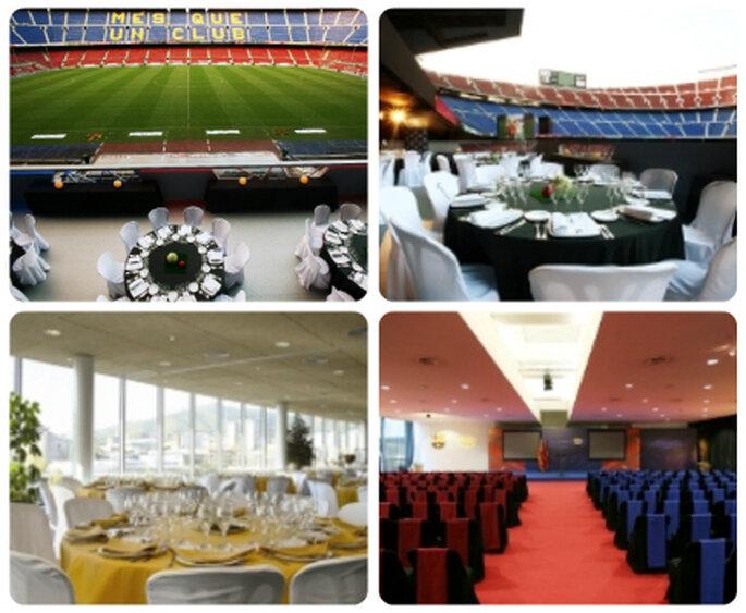 Instalaciones del Camp Nou para tus eventos. Foto: www.fcbarcelona.com