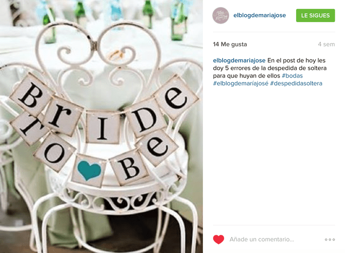 El Blog de María José Instagram