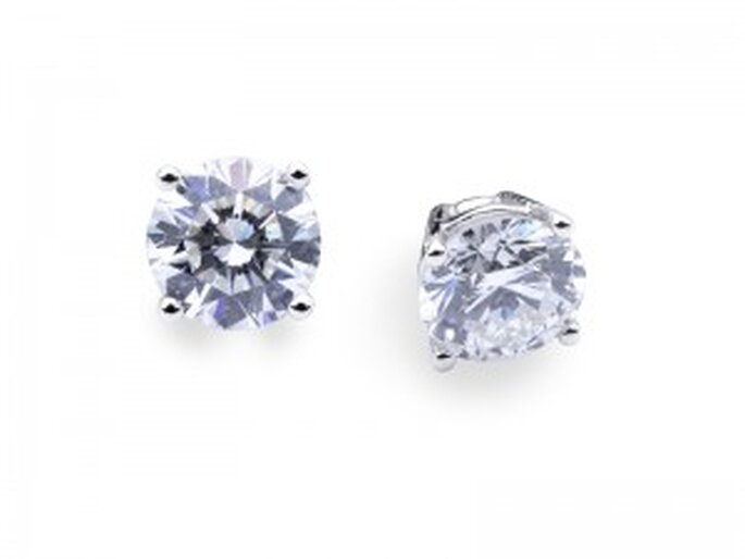 Pendientes - Dormilonas Brillantes 4 Grapas de Diamantísimo