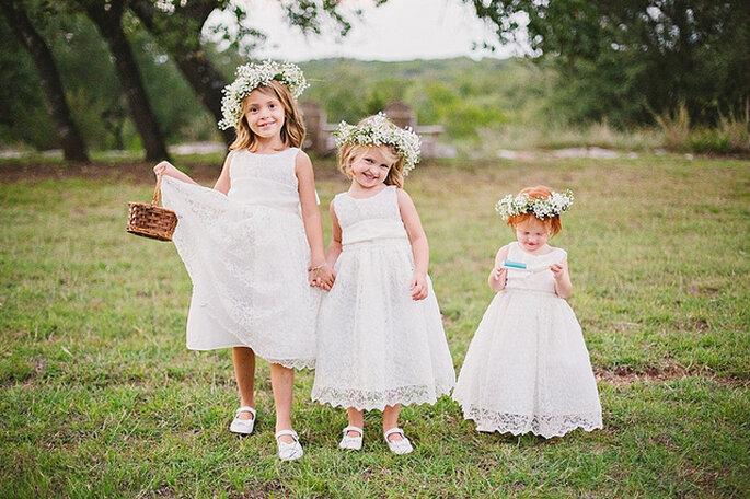 Niños en la ceremonia matrimonial. Foto: Closer to Love Photography