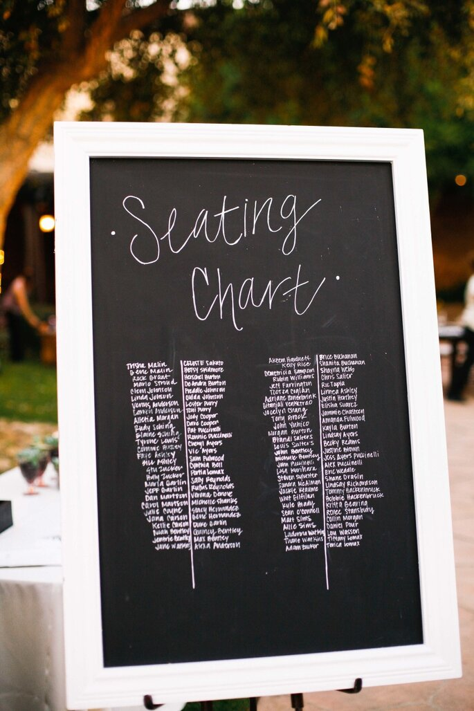 Ideas originales en seating charts - Sorella Muse