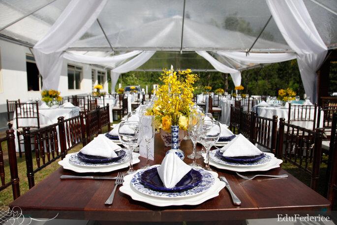 źółty dekoracja ślubna kolor przewodni