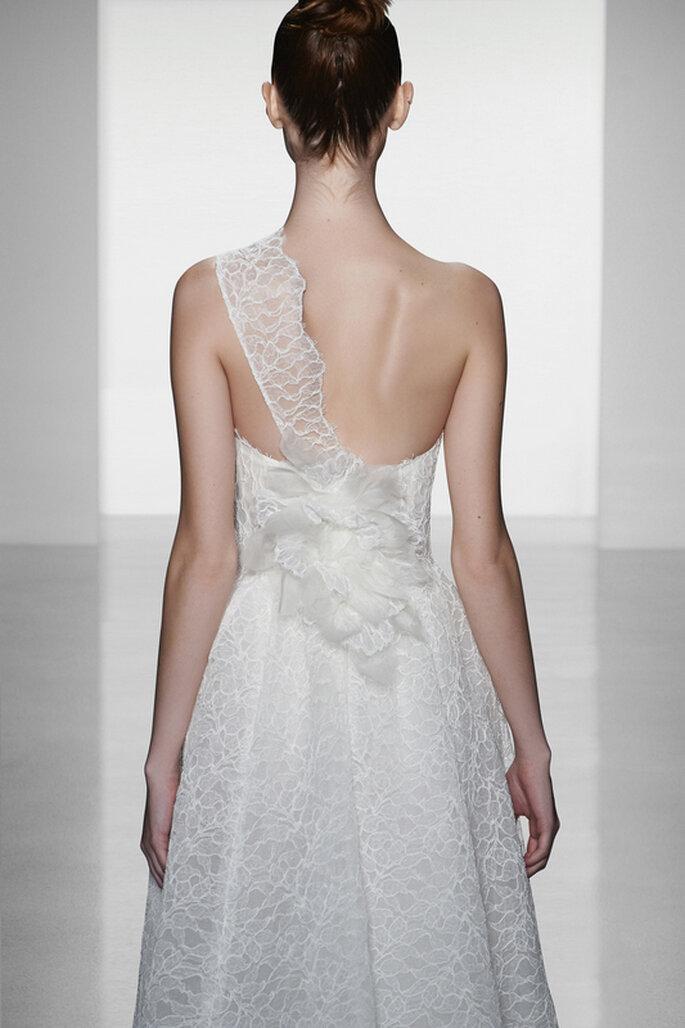 Vestido de novia Skylar de Amsale - Vista de la espalda. Foto: www.amsale.com