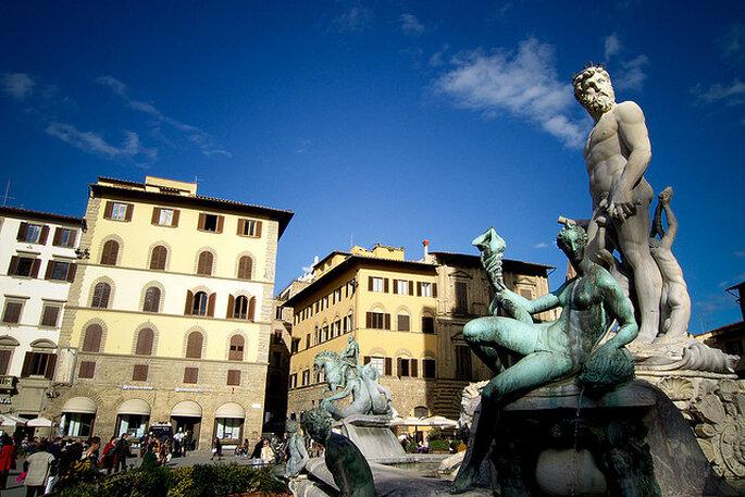 Neptuno de Ammannati, Florencia. Foto: Flickr - Untipografico