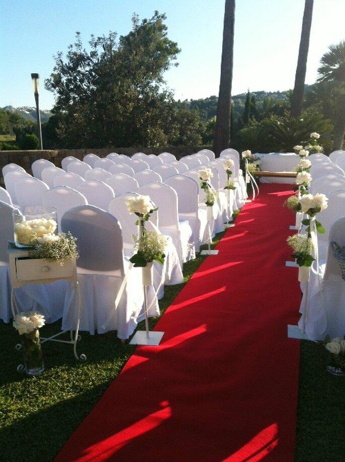 Het bruiloft team van het hotel kan u helpen met elk detail van de bruiloft organisatie - Foto: Marriott