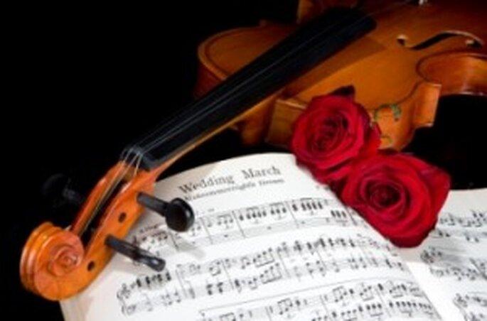 Música clásica para bodas religiosas.