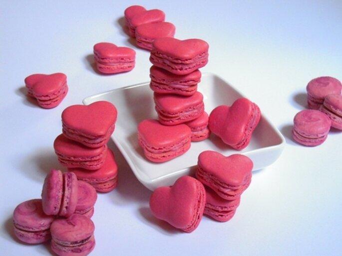 Verführerische Macarons als Gastgeschenk - Foto: Maison Macaron.