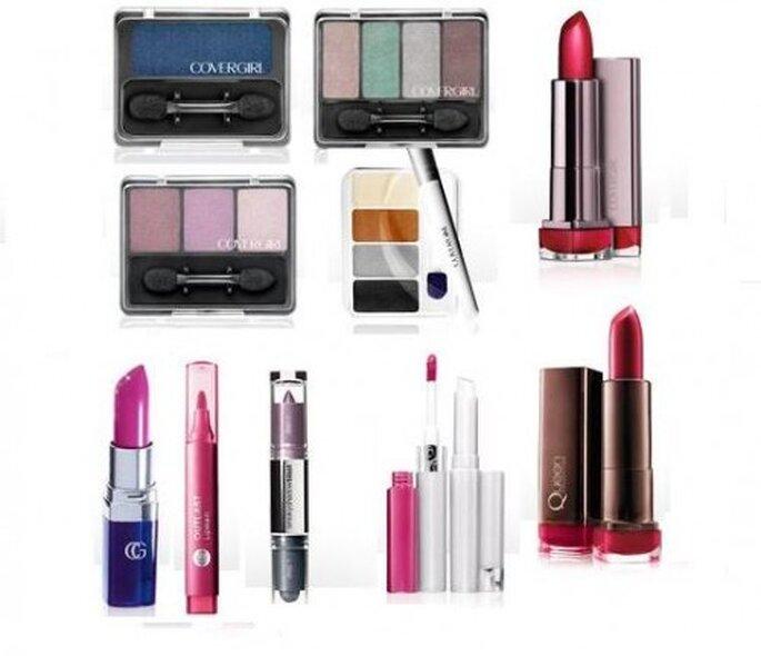 Moda en maquillaje 2013. Foto del sitio de  Cover Girl.