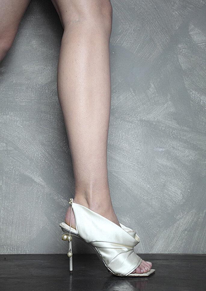 Für einen Hingucker sorgen die Schuhe von Vincent Rey – Foto: vincent rey