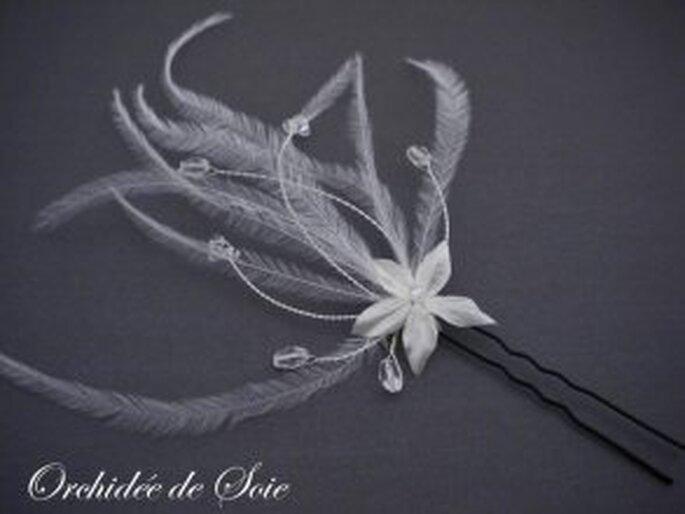 Pic à fleurs - Orchidée de soie