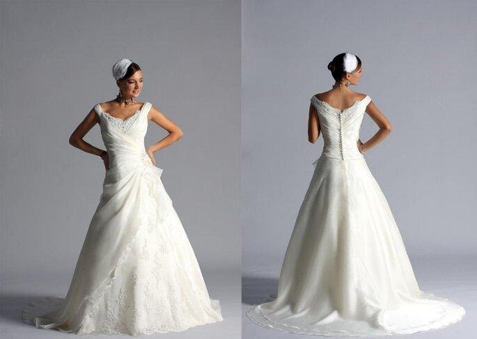Essence 2011, vestido de novia estilo princesa
