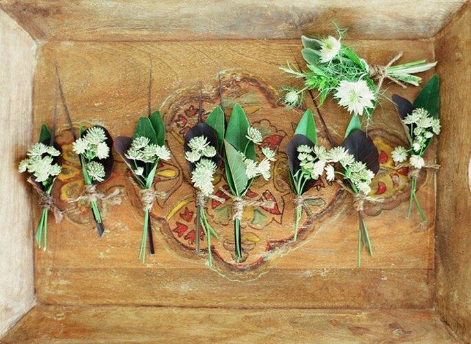 Una boda con toques country - Foto Clayton Austin