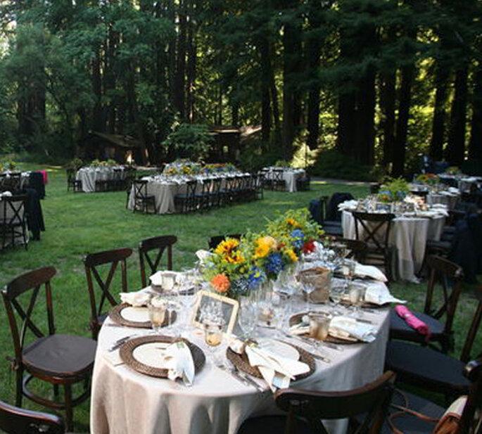 Hochzeit feiern im Grünen – Foto: Todd Rafalovich