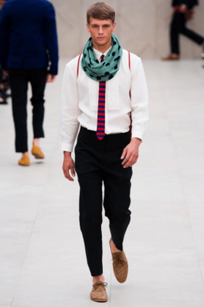 Costume de marié hipster par Burberry