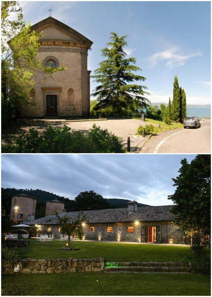 Chiesa della Madonna del Riposo e Antiche Scuderie Odescalchi