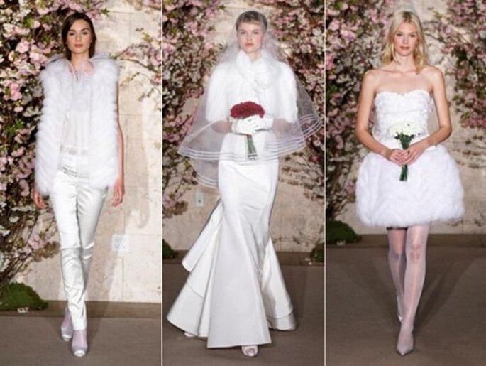 Vestidos de novia de Oscar De La Renta colección primavera 2012