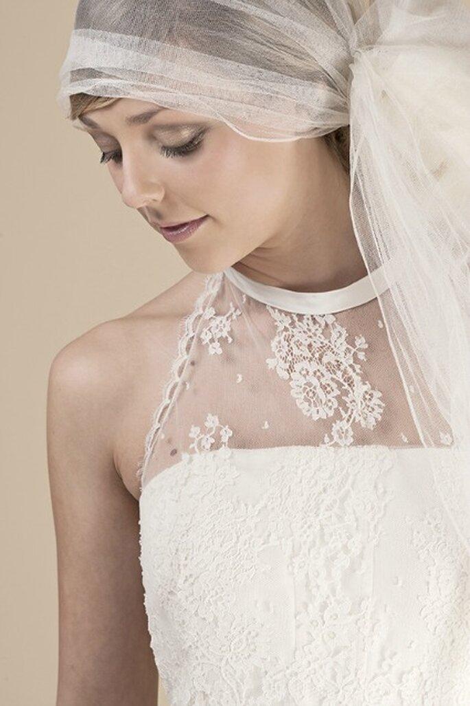 Robe de mariée sur mesure Steva Couture, modèle Gaelle