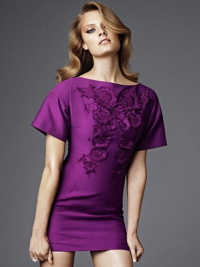 Vestido cóctel de la nueva línea exclusiva de H&M. Foto: H&M