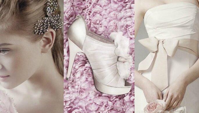 White by Vera Wang para David's Bridal
