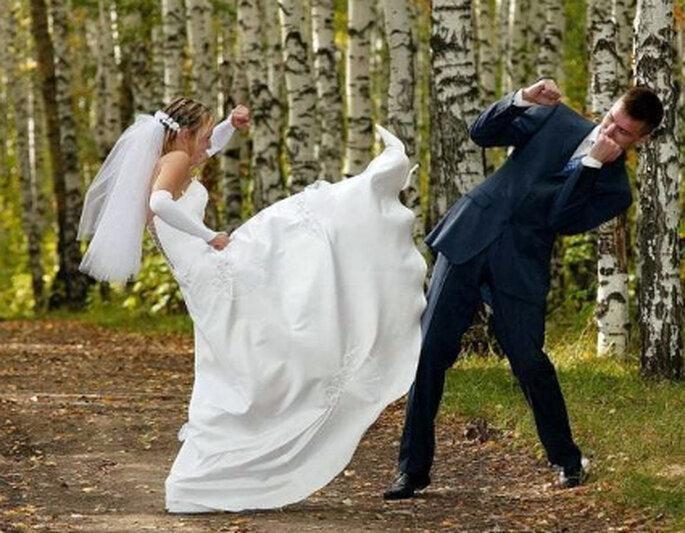 No te fastidies si el novio se muestra indiferente al escoger los detalles, generalmente los hombres no se preocupan. Foto de Reprodução