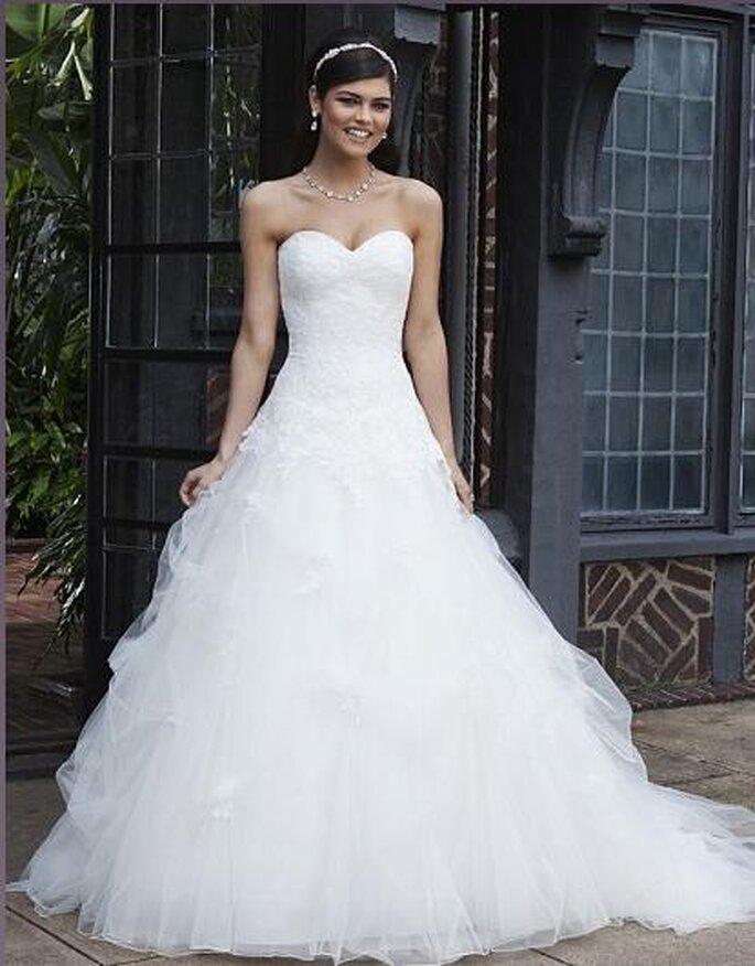 Vestidos de novia 2013. Foto del sitio de Sincerity.