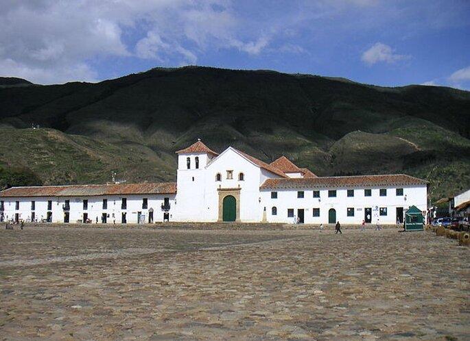 Plaza Mayor de Villa de Leyva. Fotos: www.wikimedia.org - Louise Wolff (Darina)