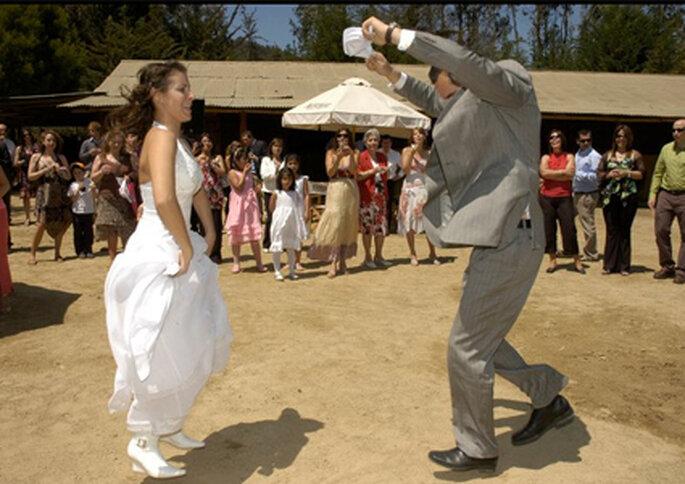 En Puro Caballo los novios pueden escoger bailar cueca en vez de vals.