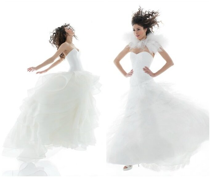 Vestidos de novia de Hanae Mori 2014 para Cymbeline