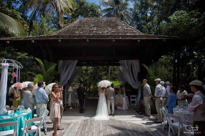 Fotografía de boda de día - Foto Arturo Ayala