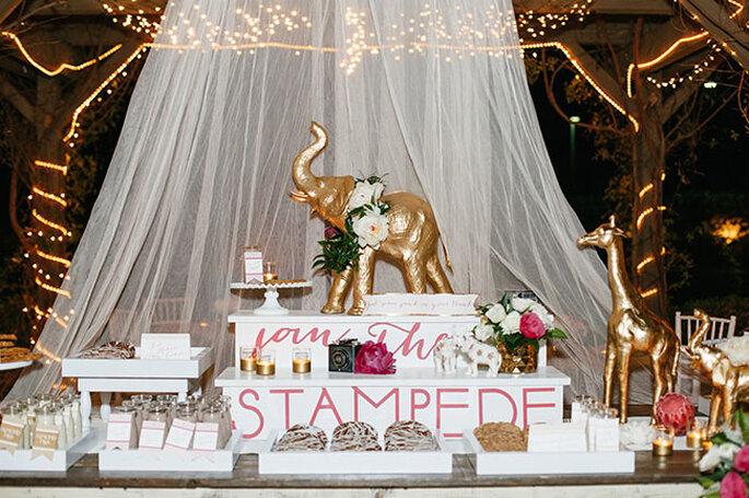 La boda más original inspirada en un safari - Tracy Hill Photography