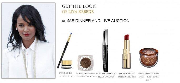 Liya Kebede embajadora de Lóreal maquillada en la gala del MET. Foto. Cortesía de L´oreal