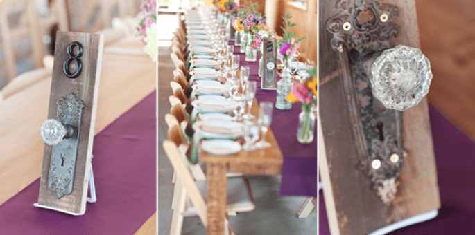 Decora tu boda estilo vintage - Foto Glass Jar Photography