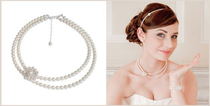 Perlenkette Vanessa von Chezbec