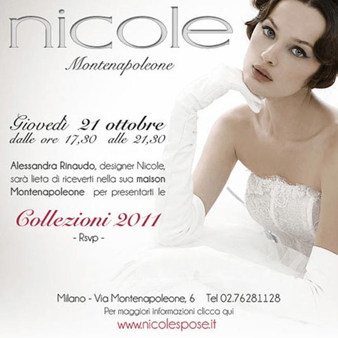 Oggi giovedì 21 ottobre presentazione delle collezioni 2011