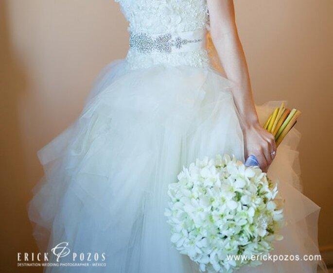 Ramo de novia primaveral 2012. Fotografía Erick Pozos