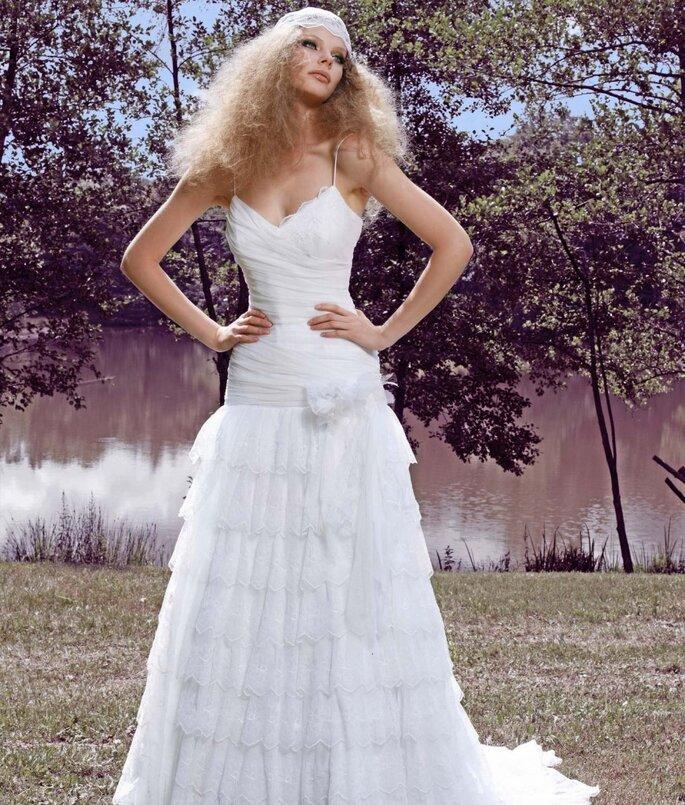 Robe de mariée Rosi Strella - Mise en scène