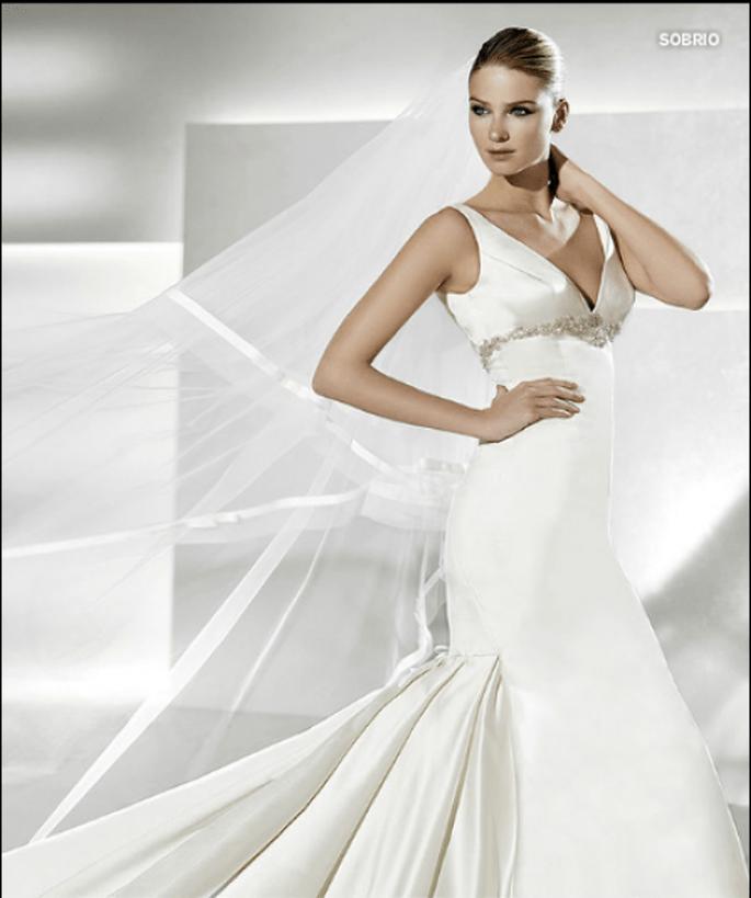 Vestido de novia Sobrio, La Sposa