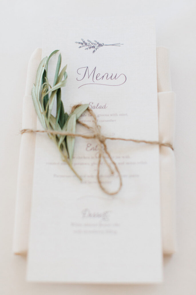 Cómo decorar una boda rústica en 2015 - Erin McGinn