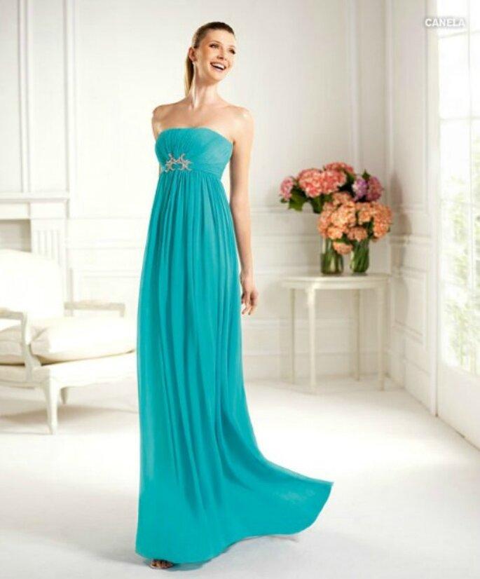 Accendi il tuo invito a nozze con un abito fluo! Pronovias Collezione Fiesta 2013