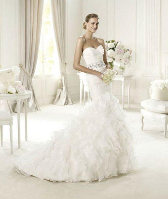 Vestidos de novia para todo los estilos y con la mejor confección - Foto Pronovias