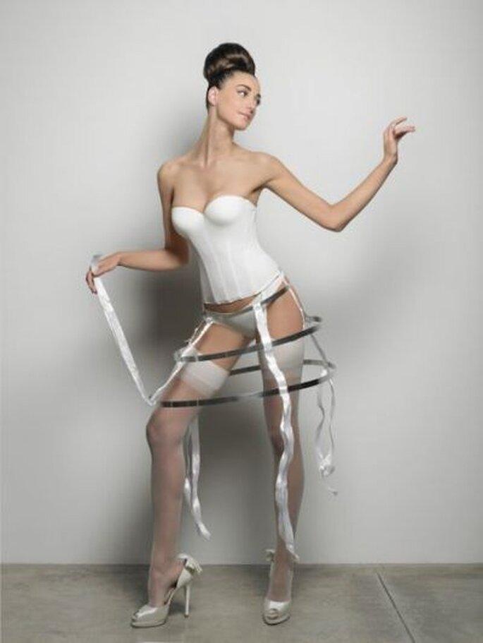 Das trägt die Braut darunter! Foto: www.penrose.it