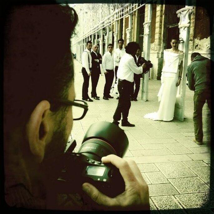 Backstage shooting Catalogo Sbiroli P/E 2012