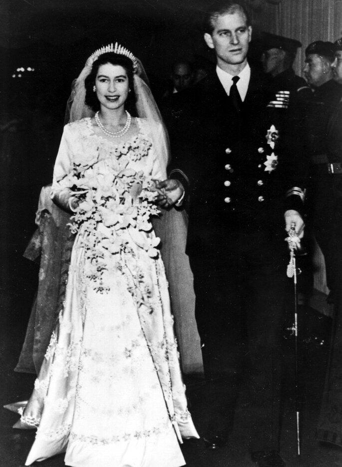La regina Elisabetta II di Inghilterra e il re Filippo di Edimburgo. Foto: Gtres