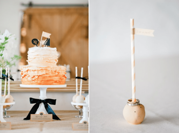 Tendencias en pasteles de boda 2014. Fotografía Nadia Meli