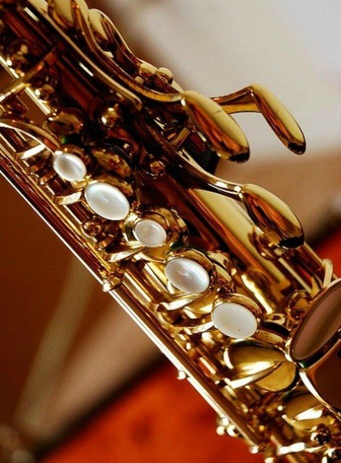 Saxofón  Foto de soupboy