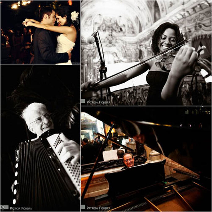 Los músicos siempre alegran la vida. FOTOS: Patricia Figueira y Priscilla Hossaka.