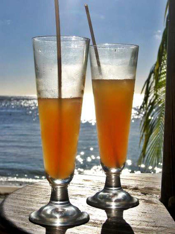 Gönnen Sie sich erholsame Flitterwochen auf Mauritius nach all dem Hochzeitsstress. Foto: Angelina Ströbel / pixelio.de
