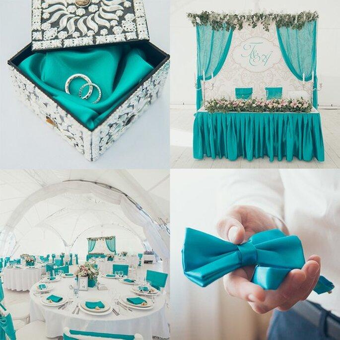 Выбрать цветовую гамму свадьбы: 10 советов от Zankyou Фото: Ivan Shevchenko
