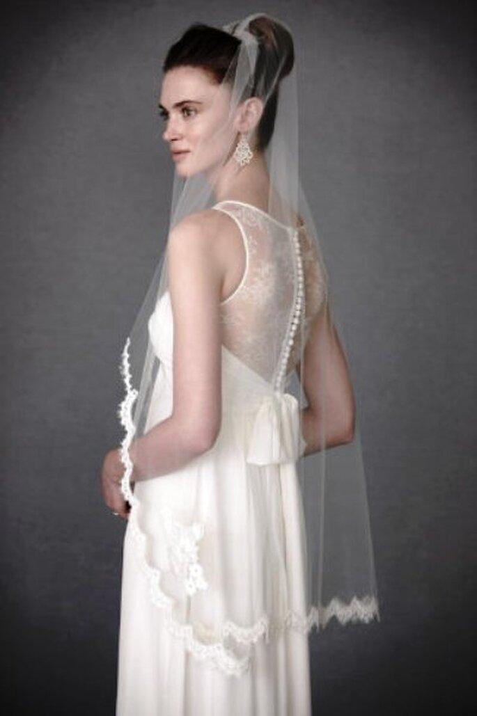 Für diese Brautfrisur braucht man lange Haare - Foto: BHLDN